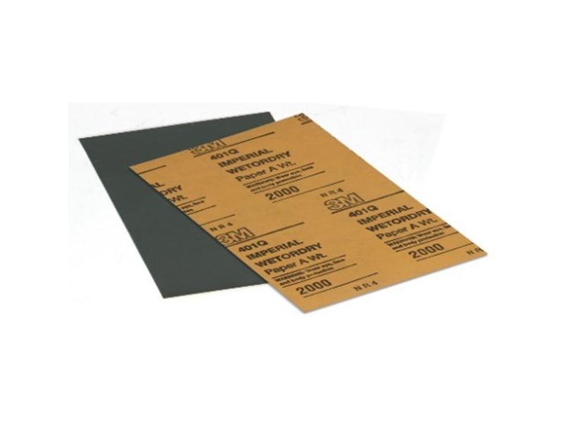 Vodobrusni papir za poliranje 401Q 138x230 mm Image